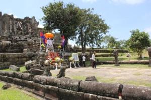 Memorial for the late king, Preah Vihear (Cambodia)
