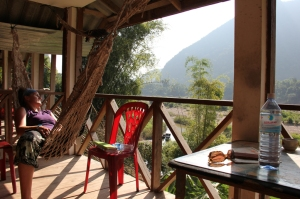 Being sick in Muang Ngoi (Laos)... not a bad place to be!