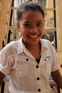 Ying, my Cambodian sponsored child - Money doesn't make you happy, but what you do with it can make you rich!