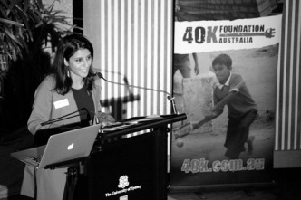 Tharani - from auditor to not-for-profit specialist