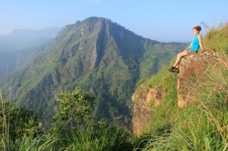 Ella, Sri Lanka - where I lost my titles...