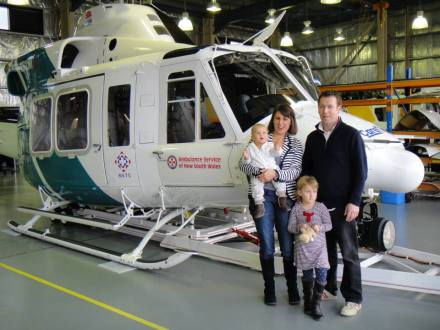 A year on, Catriona and her beautiful and very happy family visits the NETS...