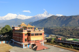 Temple of Pema Ts'al Monastic Institute, Nepal